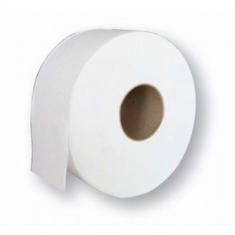 JUMBO TOILET ROLL - ABC FRESH - RECYCLED - 2 PLY / 300M