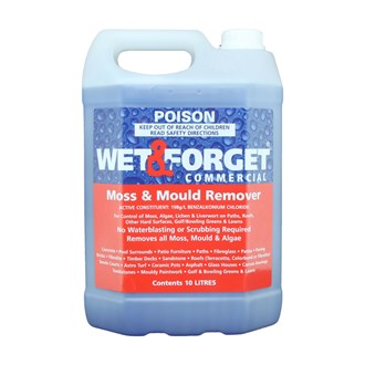 WET & FORGET - COMMERCIAL GRADE - 10L